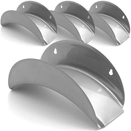 Deuba Schlauchhalter Schlauchaufhänger Gartenschlauchhalter 4 Sück Schläuche Aller Art geeignet Stahl Halter