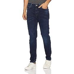 United Colors of Benetton Men's Carrot Jeans (8903975318663_17P4L23R1030I901_32W x 32L_Blue)