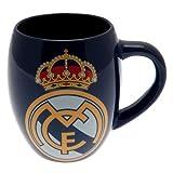 Real Madrid FC Blue White Tea Tub Football Club Fan Gift Boxed Mug Official