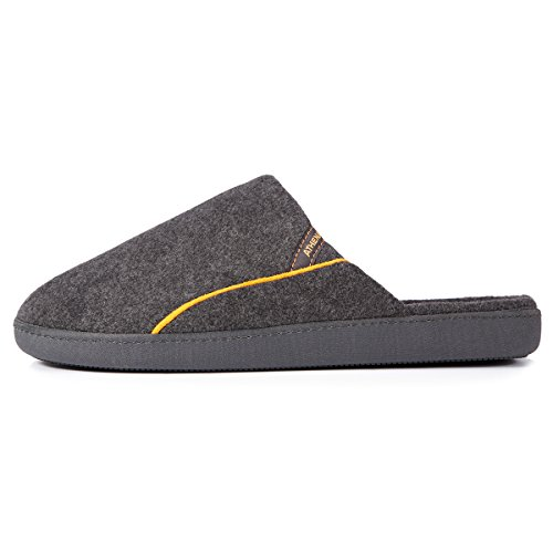 Isotoner Chaussons mules homme Homme Gris
