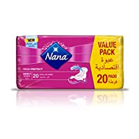Nana Ultra Normal pads with wings Pack of 20