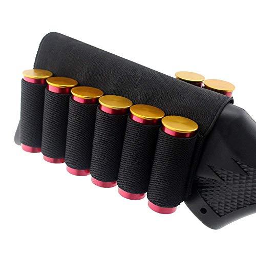 Patronenetui Schaft-Patronengürtel für 8 Patronen,Shotgun Shell Holder Gewehr Kartusche Munition Halterung Taktische Shell Holder Pouch -