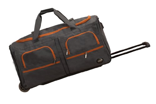 rockland-luggage-30-inch-rolling-duffle-charcoal-one-size