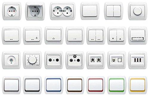 Interruptor serie UP, gama de interruptores todo en uno - marco +...