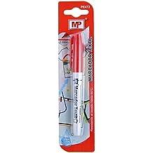 MP PE472 - Marcador de textil, color rojo