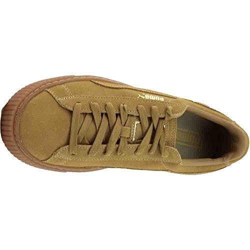 PUMA Suede Platform Sneaker  8  Beige
