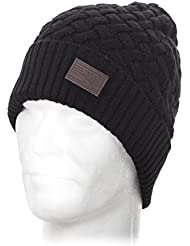 Redskins Bonnet Obi noir h16 - Noir - Taille TU (taille unique)