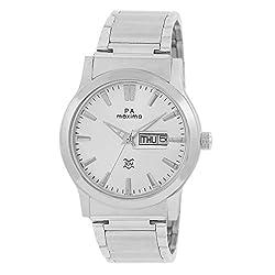 Maxima Analog Silver Dial Mens Watch - 27783CMGI