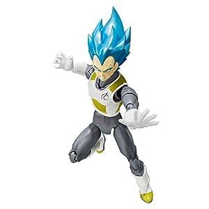 Bandai Tamashii Nations Super Saiyan Dios Super Saiyan Vegeta Figura de acción Dragon Ball Super 6