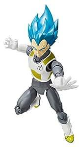 Figurine - 'Dragon Ball' - Vegeta God Saiyan - Tamashii Web Exclusive 15 cm