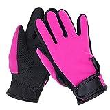 Professionelle Handschuhe NDE-6 Neopren-Tauchausrüstung Surfhandschuhe Sicherheits-Werkzeugzubehör (Farbe : Magenta)