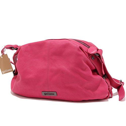 5321M borsa tracolla donna GALLIANO pelle borse women bags Fucsia