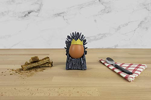 Gift Republic GR450080 Thrones Coquetier en céramique