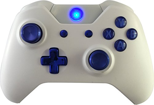 Weiß Blau Chrom Xbox One GM Master MOD Modding Controller für Call of Duty, Rapid Fire Mod für Black Ops 3 Quickscope,