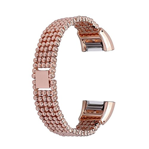 fish 5-Korn Art Armband Edelstahl-Armband-B¨¹gel-Smart Watch Band Metallersatzarmband f¨¹r Charge 2