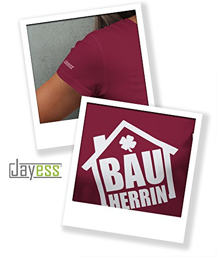 Jayess Bauherrin - Haus - Damen T-Shirt Sorbet