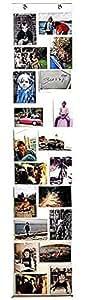RIDEAU PLASTIQUE TRANSPARENT SUPPORTS DE PHOTO POUR 20 PHOTOS - Tinas Collection
