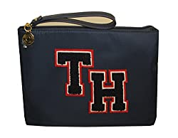 Tommy Hilfiger Wristlet Navy Blue Womens Wallet