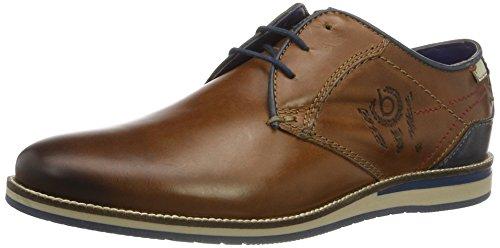 bugatti-mens-311256031200-derbys-brown-cognac-6300-8-uk