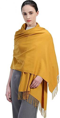 5c3729bc6a4 Accessoire Top Tendance Écharpe Femme Étole Pashmina Cachemire Foulard Châle  Automne – Hiver Touché Soyeux Couleur