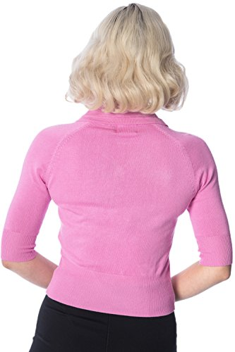Dancing Days by Banned Strickjacke APRIL SHORTSLEEVE CARDIGAN 3095 Pink