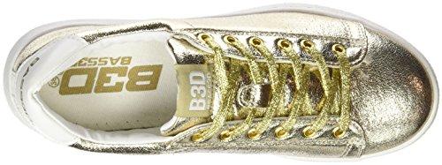 BASS3D - 041291, Scarpe sportive Donna Oro