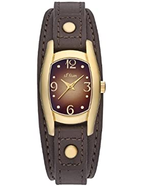 s.Oliver Damen-Armbanduhr Quarz Analog SO-2172-LQ