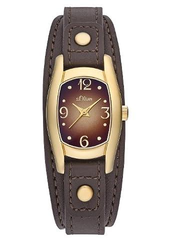 s.Oliver Damen-Armbanduhr Quarz Analog