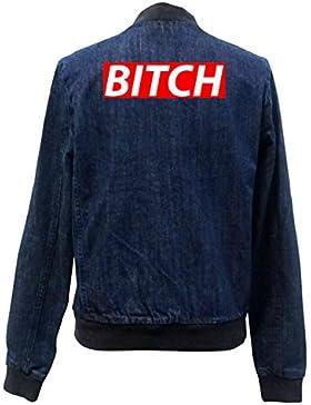Bitch Block Bomber Chaqueta Girls Jeans Certified Freak