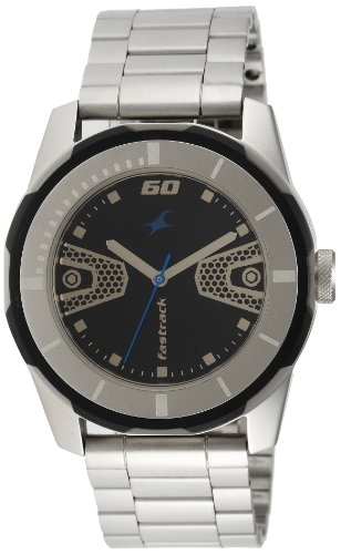 Fastrack Economy 2013 Analog Black Dial Men's Watch - 3099SM06  available at amazon for Rs.2238