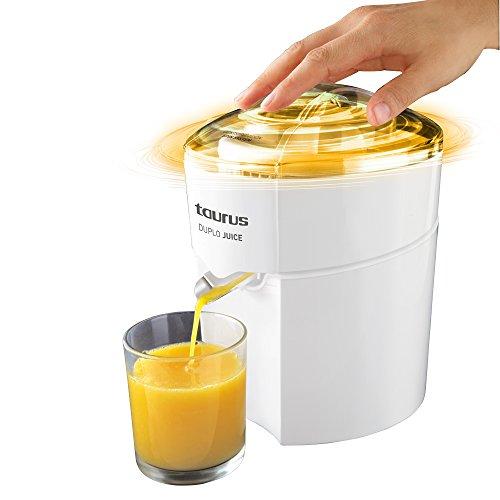 Taurus Duplo Juice 924.174, 30 W, 1 Liter, 0 Decibeles, PU|Acero Inoxidable