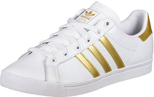 adidas Damen Coast Star W Gymnastikschuhe, Weiß FTWR White/Gold Met./Grey One F17, 42 2/3 EU -