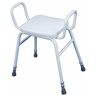 Aidapt Malling Perching Stool with Arms (Eligible for VAT relief in the UK)