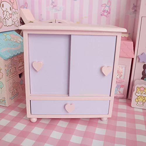 zhenfa Liebe Schmuck Box jugendlich Herz Desktop Dekoration Aufbewahrung Holz Ton Dekoration kleine Kistenlagerung Kabinett