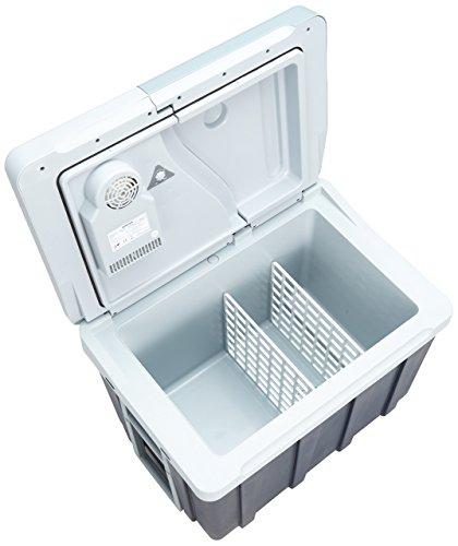 Dometic Waeco MOBICOOL W40 Thermoelektrische Trolley-Kühlbox für Auto und Steckdose, 39 Liter, 12/230 Volt AC/DC, A++