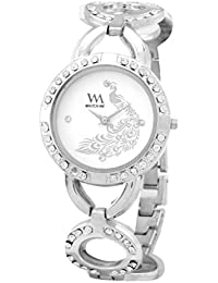 Watch Me Watches For Girls Below 300/Watches For Girls Stylish/Watches For Women Low Price (Silver Gold Rose Gold... - B01MT5O413