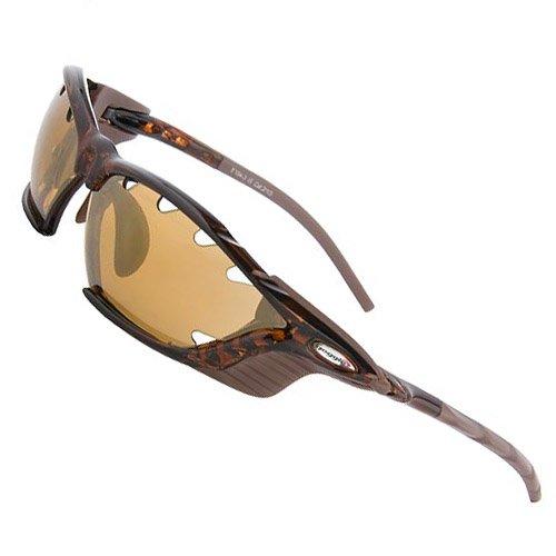 Sportbrille Radbrille im Set mit drei Paar Wechselgläsern und Sportetui