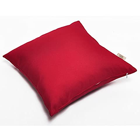 Waterproof Cushion Covers Pack of 2, Home Decorative Throw Pillow Cover with Zipper, Cushion Cases for Sofa, Chair, Bench, Car and Patio Furniture, 18'' x 18''