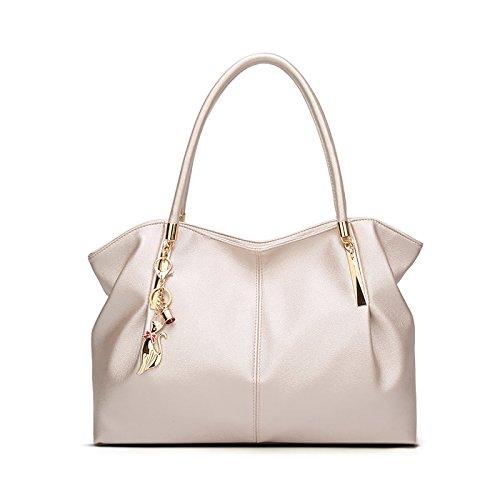 Tisdaini Bolsos de Mano Mujer Bolsos Bandolera Moda Gran Capacidad Cuero Suave Bolsos Totes Shoppers...