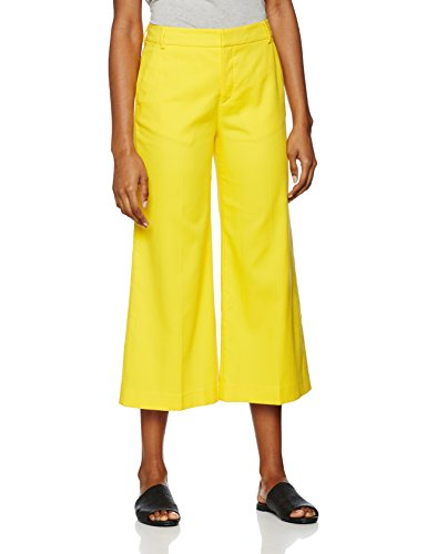filippa-k-womens-flyn-cropped-pants-trousers-yellow-sunglow-small