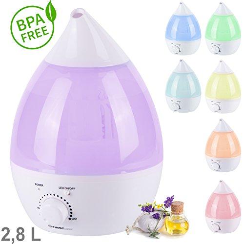 tzs-first-austria-28l-aroma-licht-diffuser-luftbefeuchter-mit-farbwechsel-und-dauerlicht-sehr-leise-