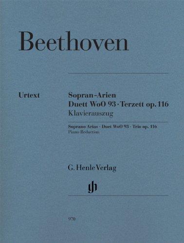 Arias pour Soprano - Duo Woo93 - Trio Op.116 --- Voix Haute et Piano