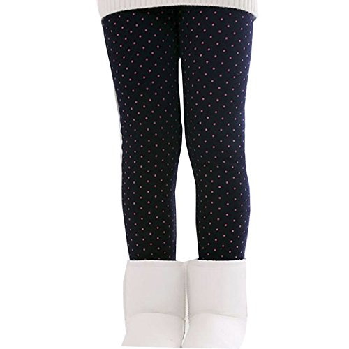 Brightup Enfants Filles Collants Leggings Pantalons Epais Chaud pour Automne hiver