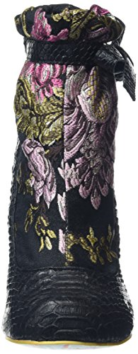 Irregular Choice - Ivory Castle, Scarpe col tacco Donna Nero (Nero)