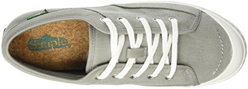 Simple Satire, Baskets Basses Femme Gris (Charcoal 029)