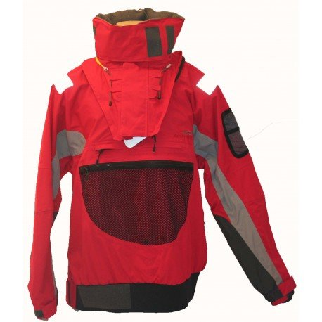 Aigle 565702005-Giacca hydrophilique Seascreen  rosso rosso S