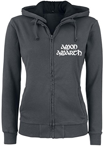 Amon Amarth Beardskulls Felpa jogging donna carbone XL