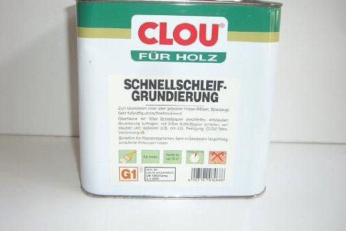 Clou Schnellschleif-Grundierung G1 0,750 L