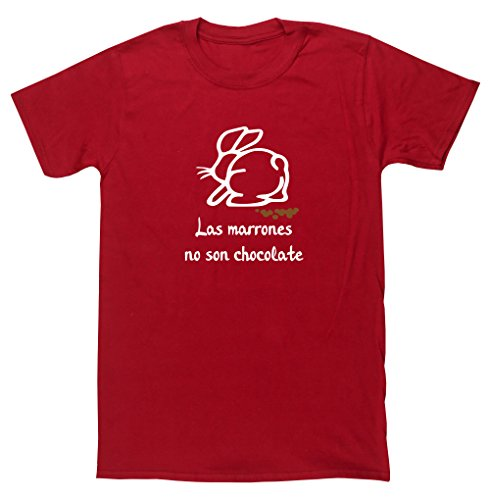 HippoWarehouse Las Marrones no son Chocolate camiseta manga corta unisex