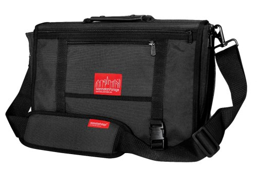 Manhattan Portage wallstreeter Laptop Tasche, unisex, grau (Messenger Gry Laptop)